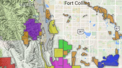 Larimer Open Spaces & Fort Collins Natural Areas