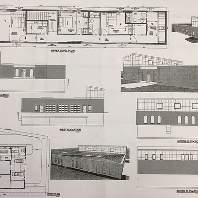A couple from Decorah submitted these site plans to