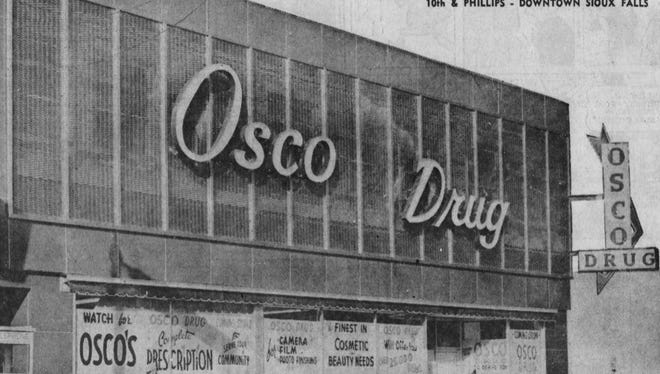 Osco Drug at 10th and Phillips, just before opening day 1966.