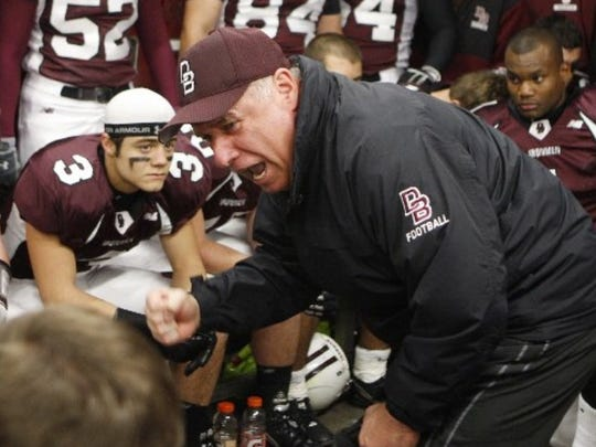 Joey Lopez, No. 3, a former national champion at Don Bosco Prep, organized a recent gathering in honor of his former coach, Greg Toal.