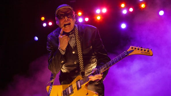 Rick Nielsen of Cheap Trick performs in 2013. Cheap