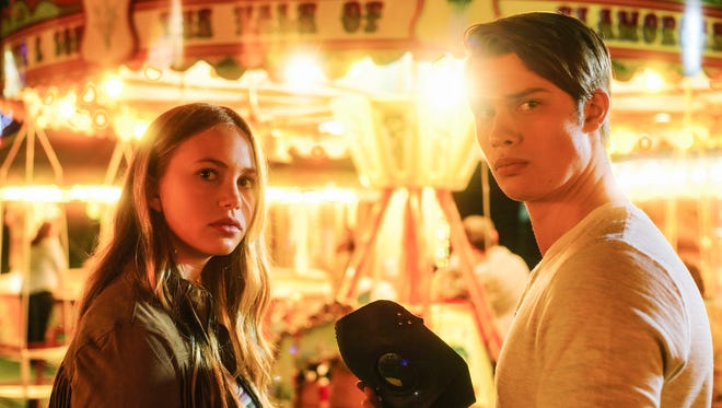 """Nicholas Galitzine and Tallulah Evans star in the remake of """"The Watcher in the Woods."""""""