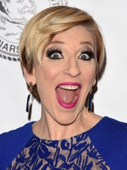 Comedian Lisa Lampanelli attends the Friars Club Roast
