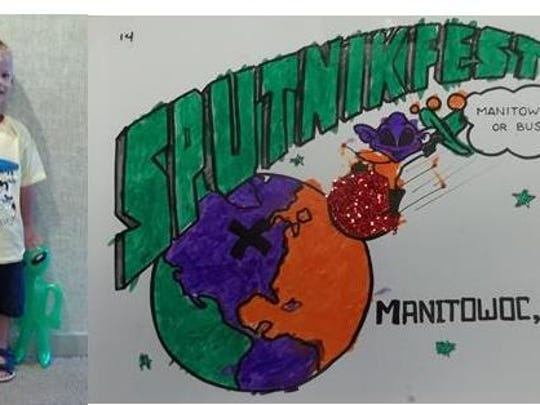 2017 Sputnikfest Coloring Contest winner in the younger