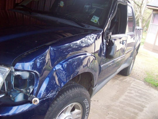 Sarepta resident Pamela Jay was in a serious accident