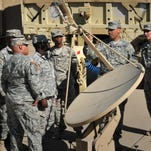 COL Charles Stein, Army program manager for Defense Communications and Army Transmission Services
