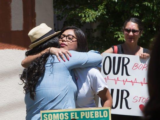 Johana Bencomo, a community organizer with NM Comunidades