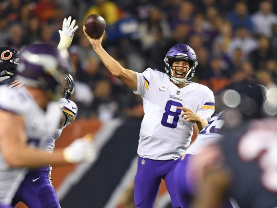 Sam Bradford's name is already surfacing as a possible
