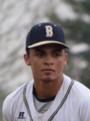 Beacon baseball player Lenny Torres