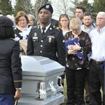 Veterans, others join those burying WWII pilot in Millsboro
