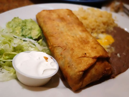 Other Top Picks: Machaca Beef Chimichanga at Comedor