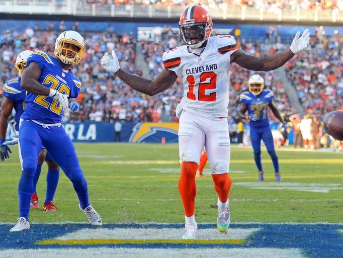 32. Browns (32): Good — Josh Gordon's 85-yard return
