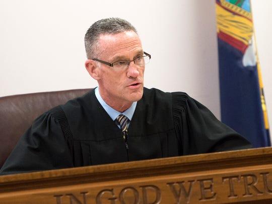 Broome County Court Judge Joseph Cawley