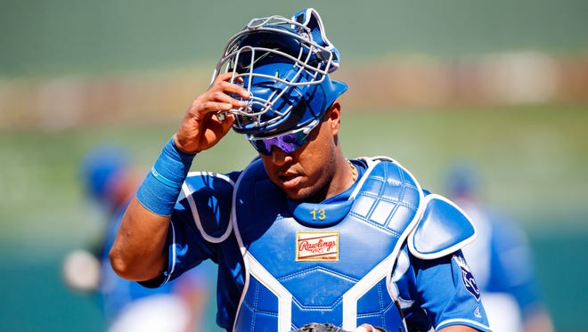 The Royals' Salvador Perez has been one of the game's most durable catchers. But he'll miss this season's first 4-6 weeks with a torn knee ligament.