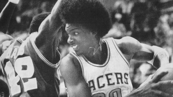 libscan  Darnell Hillman of the Indiana Pacers getting
