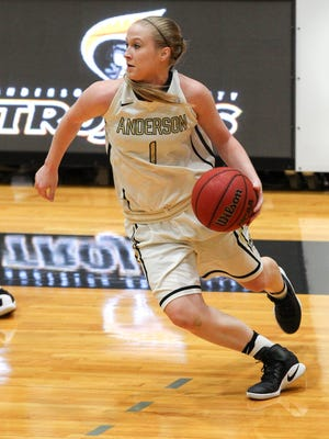 Anderson senior guard Heather Jankowy has been named SAC player of the week twice this season.