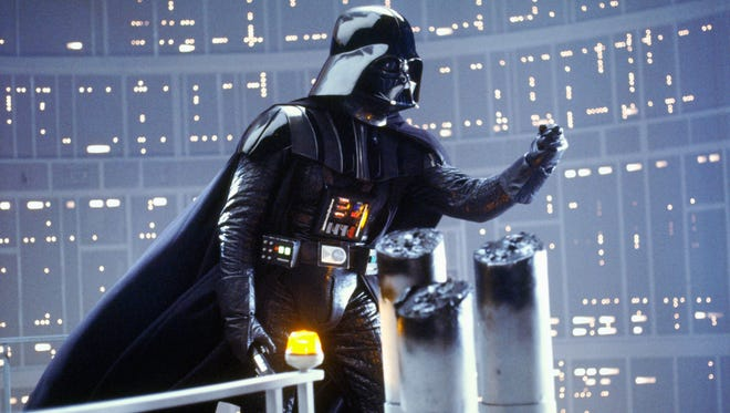 "Darth Vader has a honest conversation with his son in ""The Empire Strikes Back."""