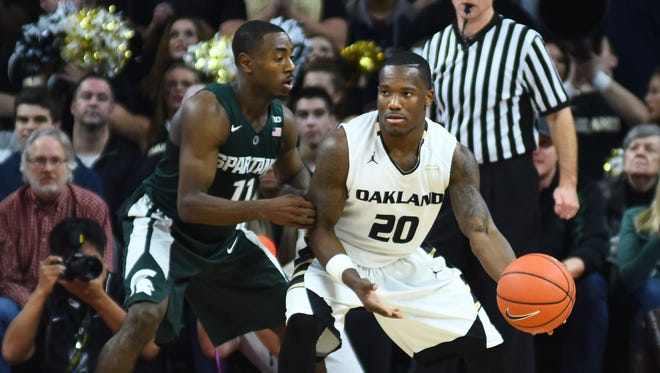 Isaiah Thomas reached out to Oakland's Kay Felder after the latter's 37-point, 9-assist game against Michigan State in December at the Palace. MSU prevailed in OT, 99-93.