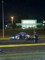 Jay and Julie Hogan died following a crash on Vann Drive on Thursday evening.