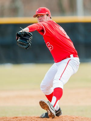 Former Marist College pitcher Kevin McCarthy, seen here in a 2013 Marist photo, made his major league debut on Friday night.