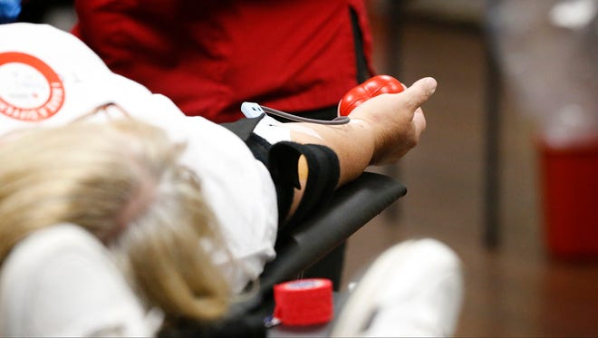 Blood supply and the number of donors drop across the nation during summer months, according to the American Red Cross.