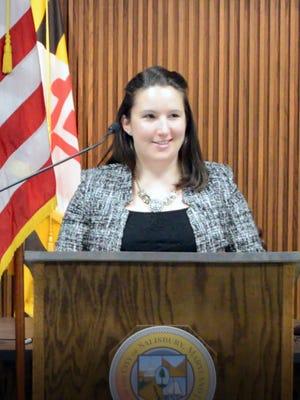 Julia Glanz was named the Salisbury city administrator on Wednesday, Feb. 22