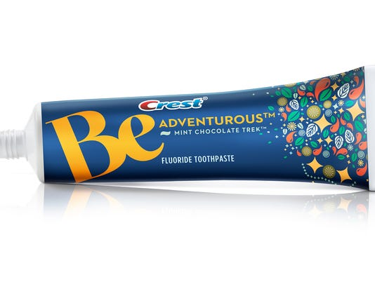 Chocolate-flavored toothpaste new Crest creation