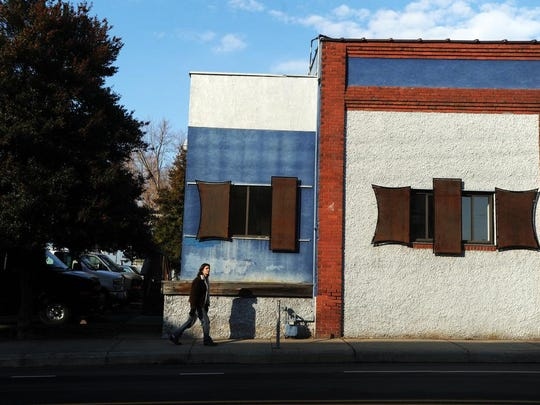 The former Asheville Music School at 101 Lexington Ave. is the new site of the HiveMind Brewhouse, seen here Thursday.