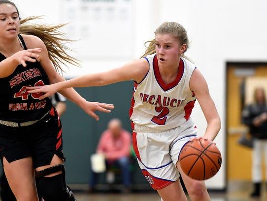 Secaucus senior F Lindsey Mack averaged nearly 18 points per game last season.