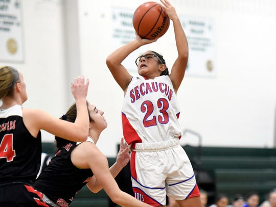 Sophomore PG Damaris Rodriguez returns for Secaucus.
