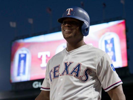 USP MLB: BALTIMORE ORIOLES AT TEXAS RANGERS S BBA TEX BAL USA TX