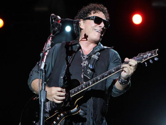 Co-founding Journey guitarist Neal Schon.