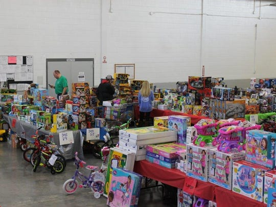 Volunteers from across Crockett County raise money all year for the Crockett Christmas Store, which this year will provide gifts to more than 630 children who live in the county.