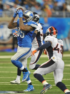 The Lions plays the Seahawks at 8:30 p.m. Monday on ESPN.