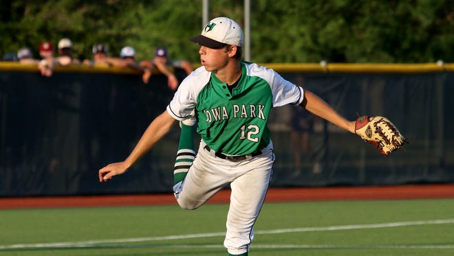 Iowa Park's Kaleb Gafford owns a 9-1 record with a 0.89 ERA and 79 strikeouts in 55 innings this year.