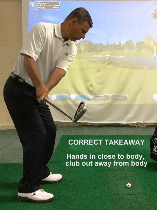 Fairways & Greens: Backswing and takeaway for a full swing