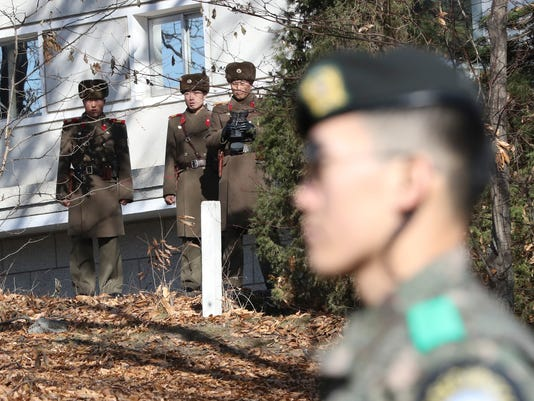 AP SOUTH KOREA KOREAS TENSIONS I KOR