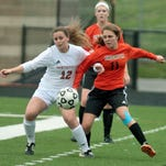 Brighton's Elliana Saladin and her teammates battled Northville to a 0-0 tie and lost in a shootout last week. They hope for a different result against Novi tonight in the first round of districts.