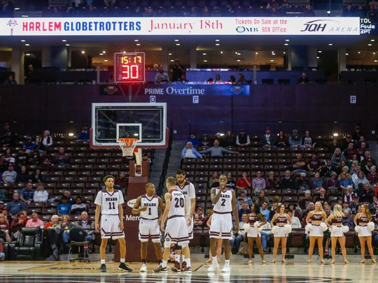 The Missouri State Bears took on the Evangel Crusaders at JQH Arena on Friday, Nov. 24, 2017.