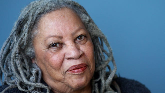 A 2012 photo released by Alfred A. Knopf, shows author Toni Morrison.