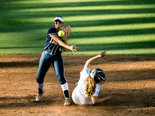 Alynah Torres is a junior softball player at Cactus