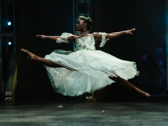 Michaela DePrince performs 'Giselle' with the English