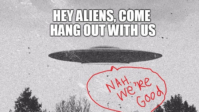 This is why aliens don't talk to us. NASA's weird job and someone robbed a Dollar Tree.