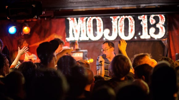 The Hold Steady is one of several national acts that have performed at Mojo 13 since its 2006 opening in Holly Oak.