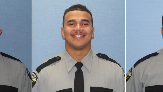 From left to right: Richmond County deputies Joseph Hawk, Melvin Walker and Corey Whitfield.
