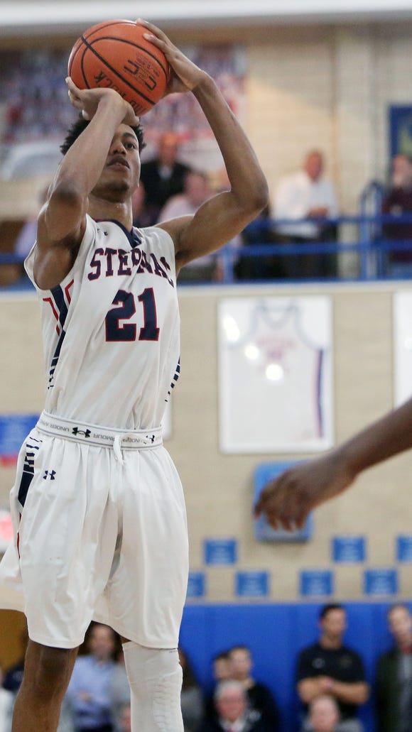Stepinac's Alan Griffin earned MVP honors of the Torrey Pines Holiday Classic. The Crusaders won four straight games to win the national division title.