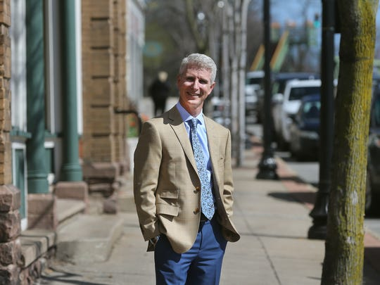 Realtor Jim Gray of Keller Williams says part of the allure of living in Spencerport is its walkability to area shops and restaurants in the village.