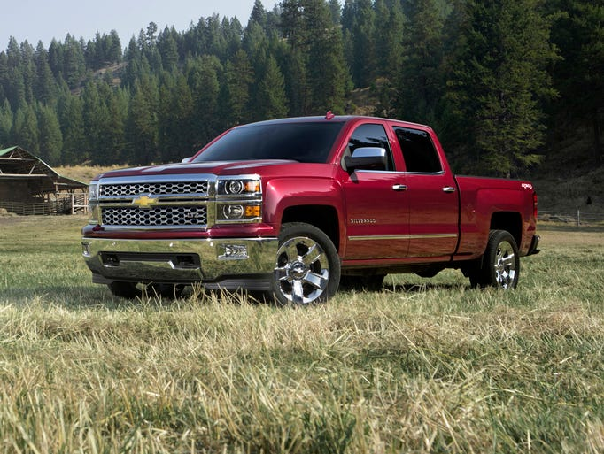 The Chevrolet Silverado 1500 adds an all-new eight-speed