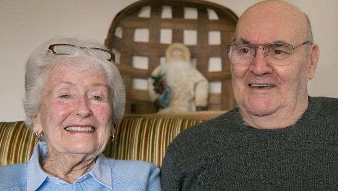 Doris and Rudy Knapp have been married and living in the area for 67 years.