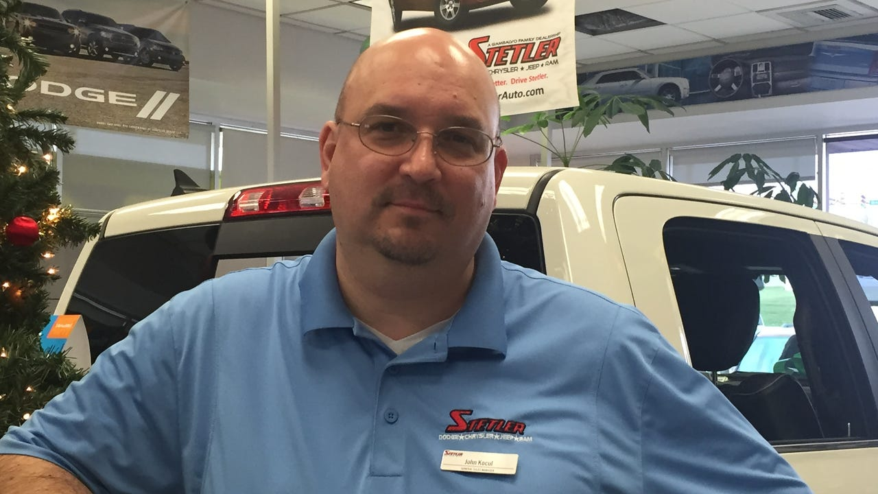 John Kocul, general sales manager at Stetler in York talks about what's been bringing in people to shop for cars on Black Friday.